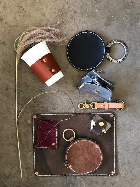 Desk+Scene+-+women+coffee+sleeve,+change+purse,+lipstick+case,+keychain,+earbud+wrap,+mousepad.jpg