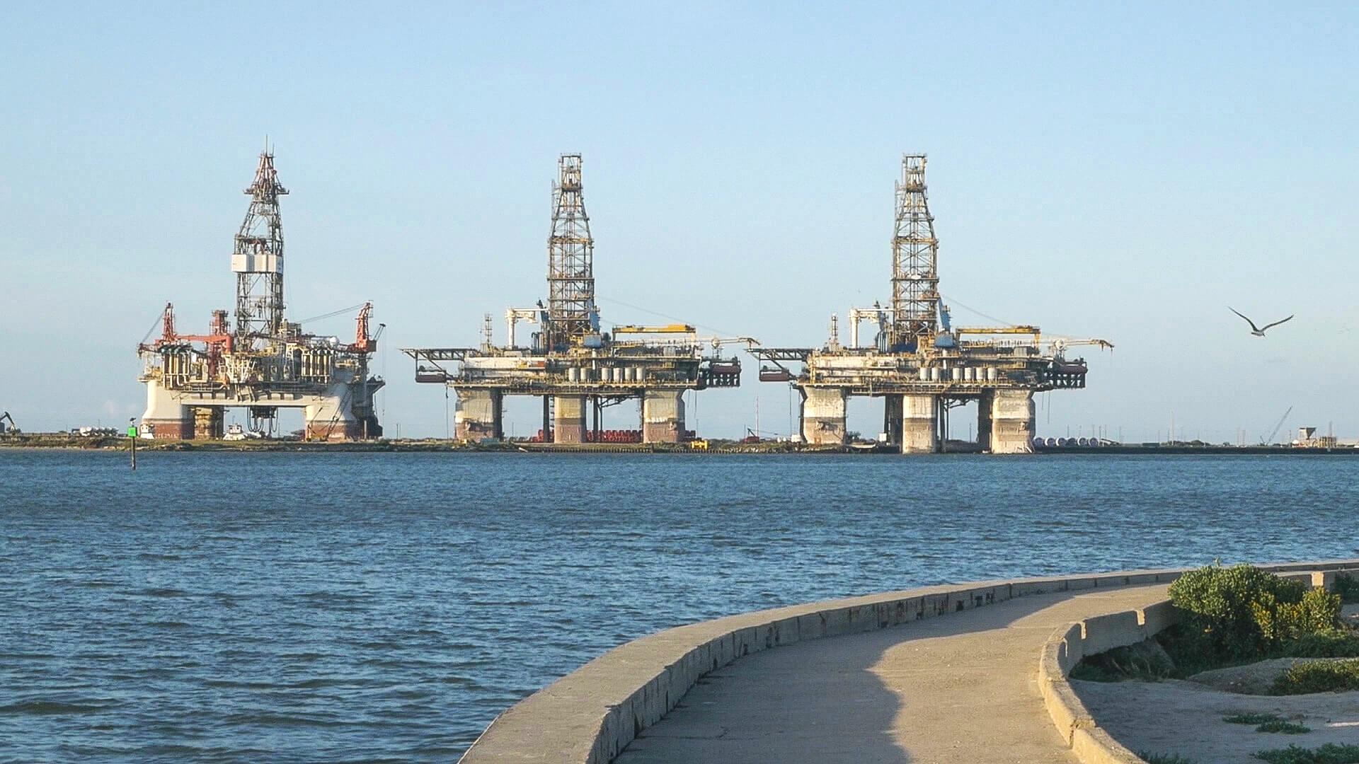 Port Aransas Oil Rig