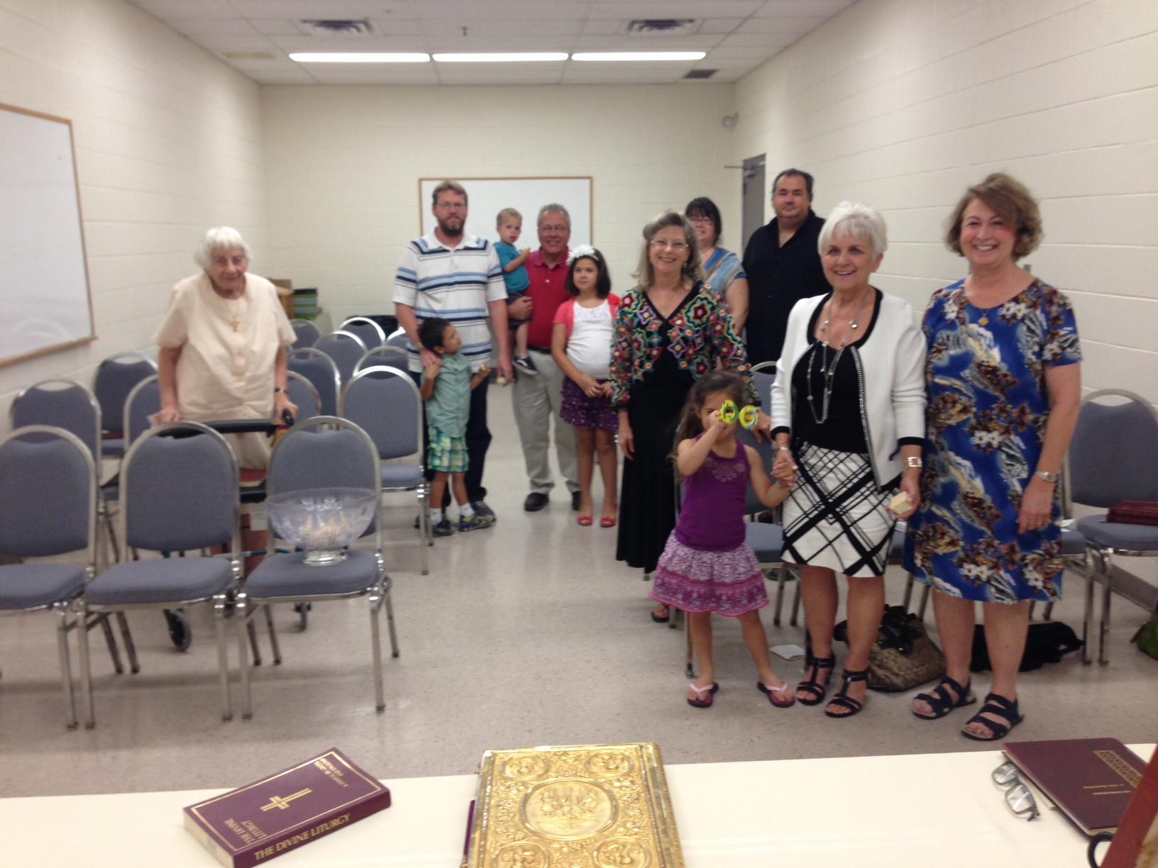 First Liturgy May 17, 2014