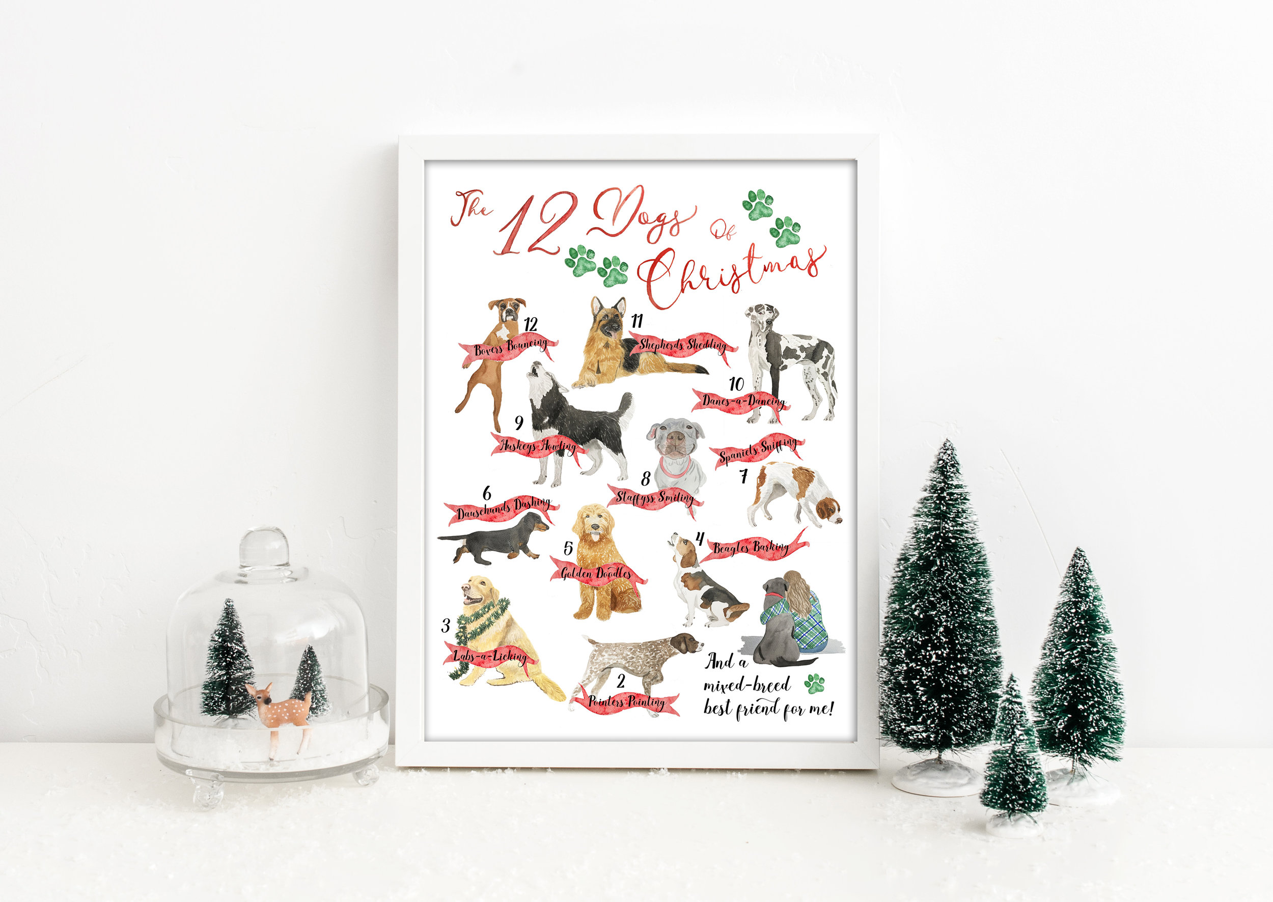 The Holiday Collection - Drink Signs, Greeting Cards, Gift Tags, and More