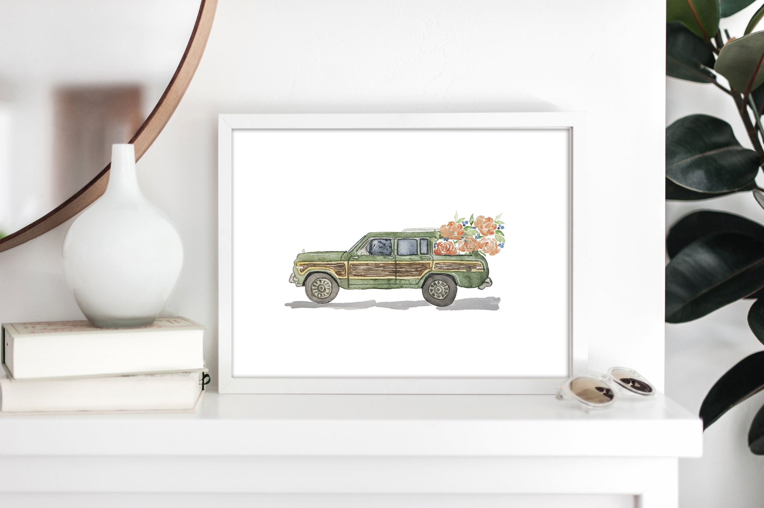 The Vintage Car Collection - Station Wagon, Convertible, Jeep, and More