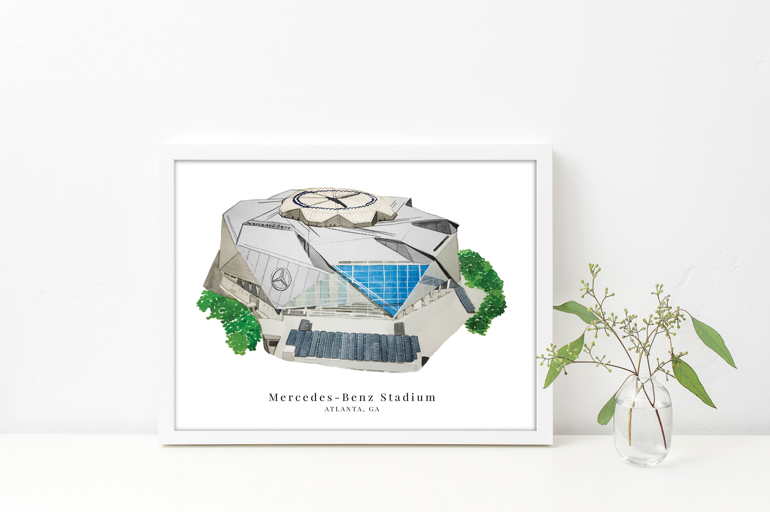 The Stadium Collection - Sanford, Auburn, Mercedes-Benz, Memphis, and More