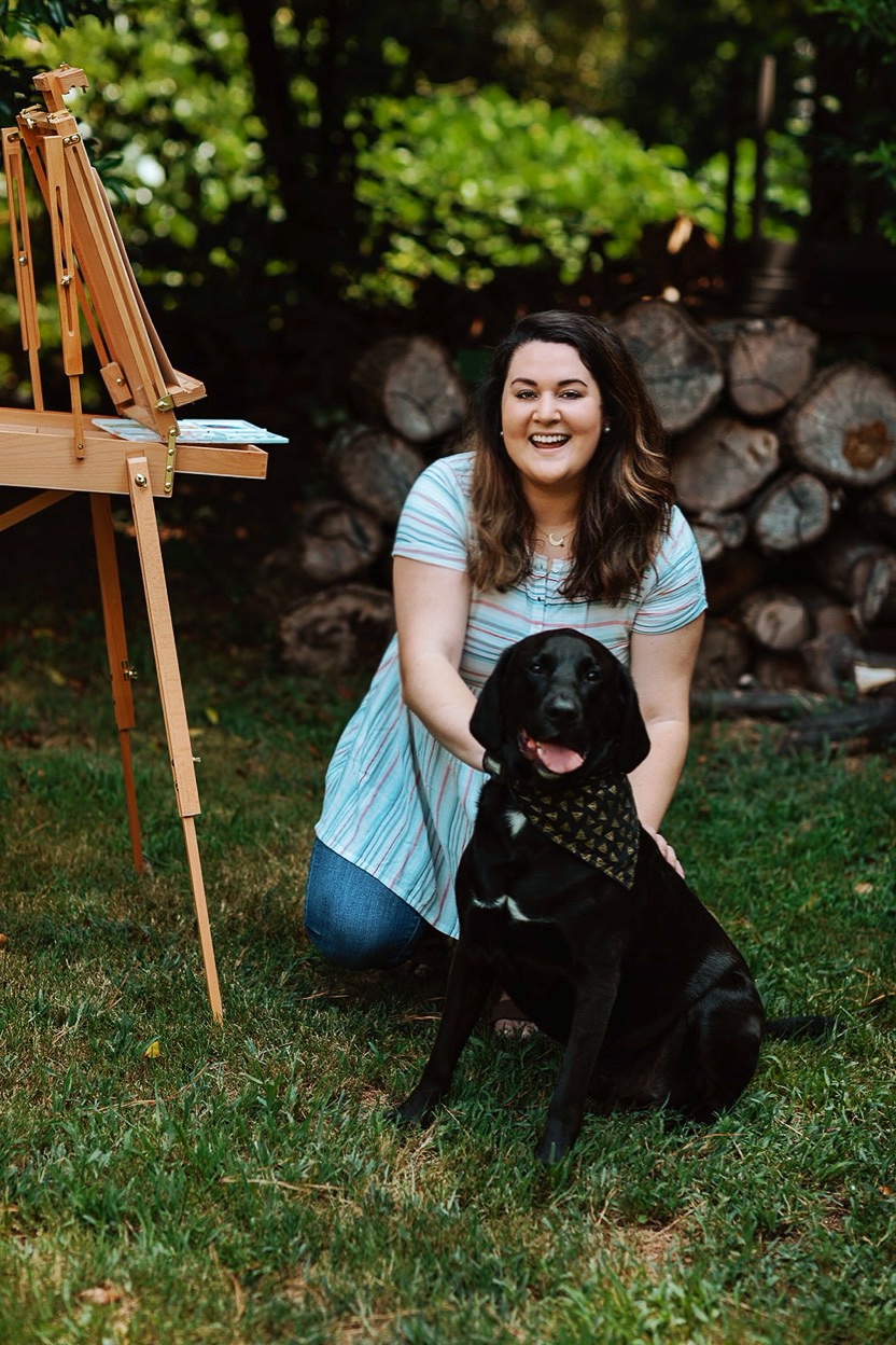 Meet the Artist - Get to know Shelby, Miller, and how the love of a dog helped make this whole business come to life