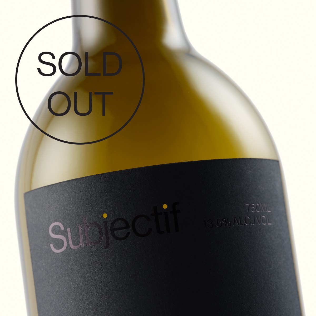 """We were thrilled at the overwhelming response to our first batch of Subjectif. We are currently sold out, however stay tuned for our second bottling, coming spring 2020."" - —13th Street Winery"