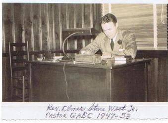 Elmer West, our Pastor Emeritus