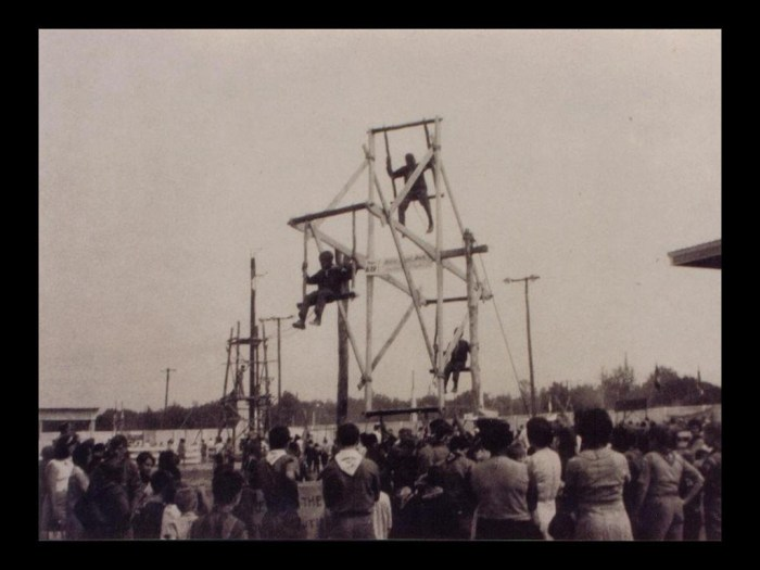 The Scout Ferris Wheel was built for a Scout-o-rama that was held at the fairgrounds.
