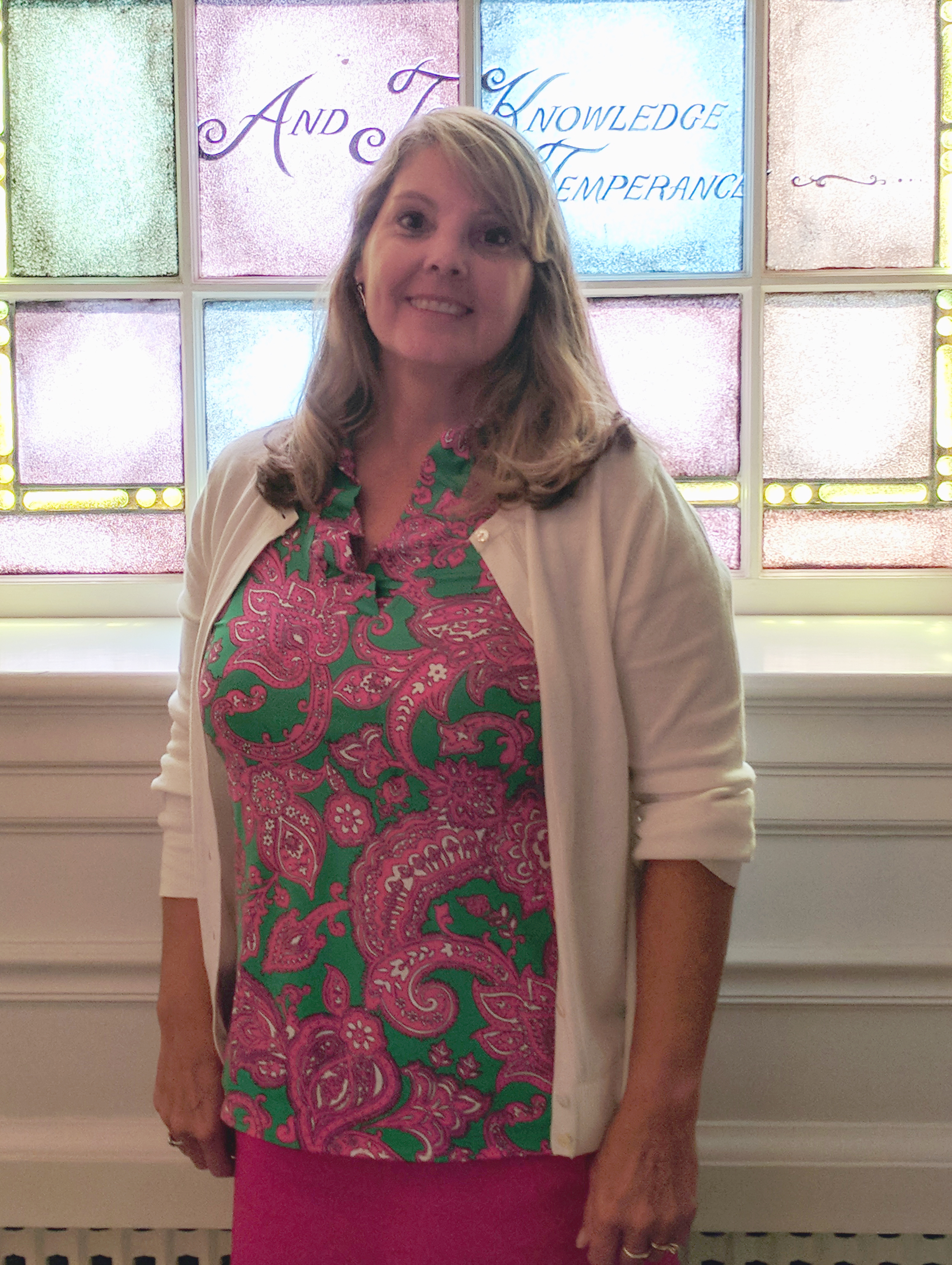 debbie gordonpreschool director - Debbie Gordon has been an integral part of our children's programming for a long time, serving as a Pre-K teacher before she became the program's director around 2009.