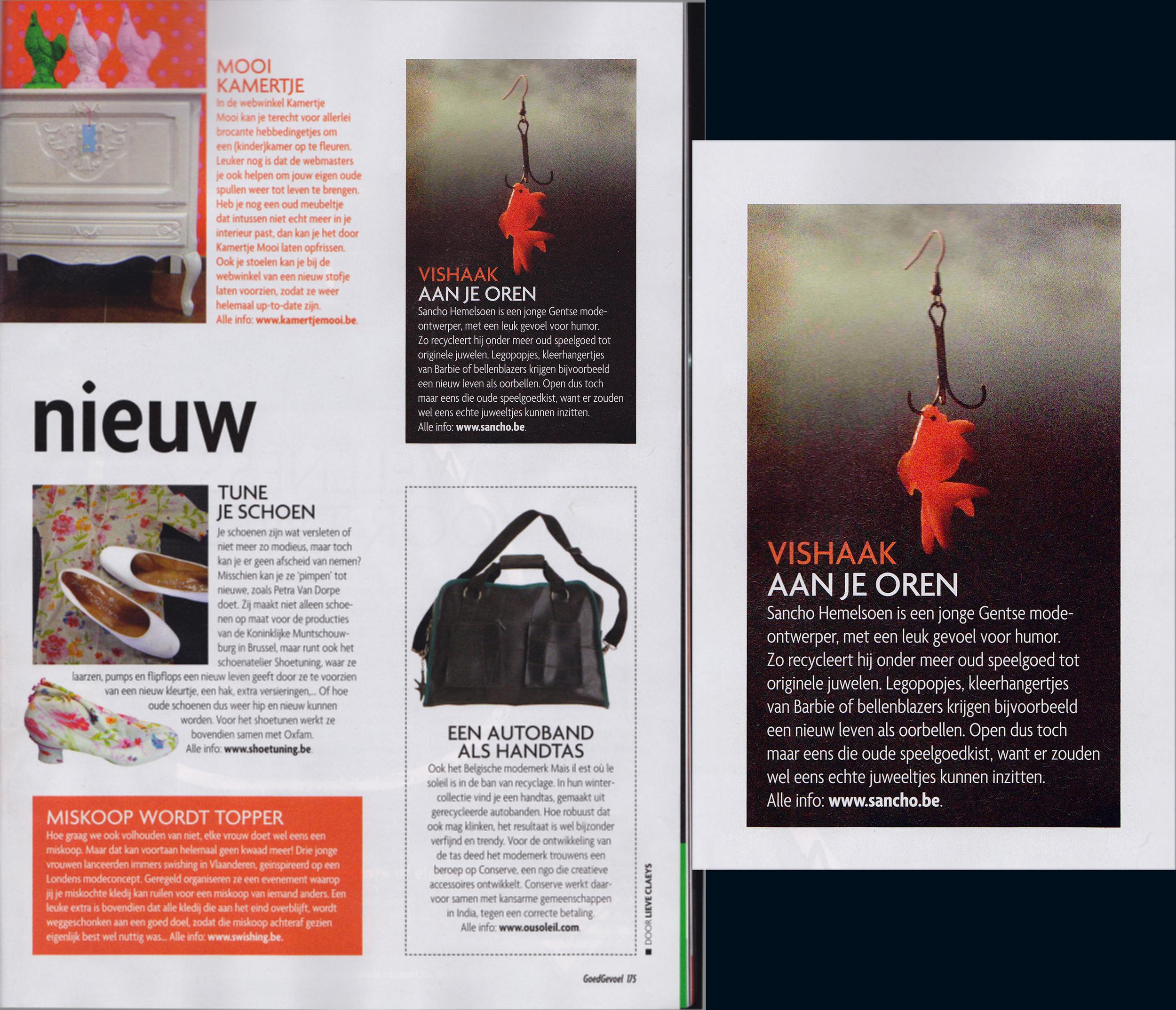 'Goed Gevoel' - Belgian lifestyle magazine
