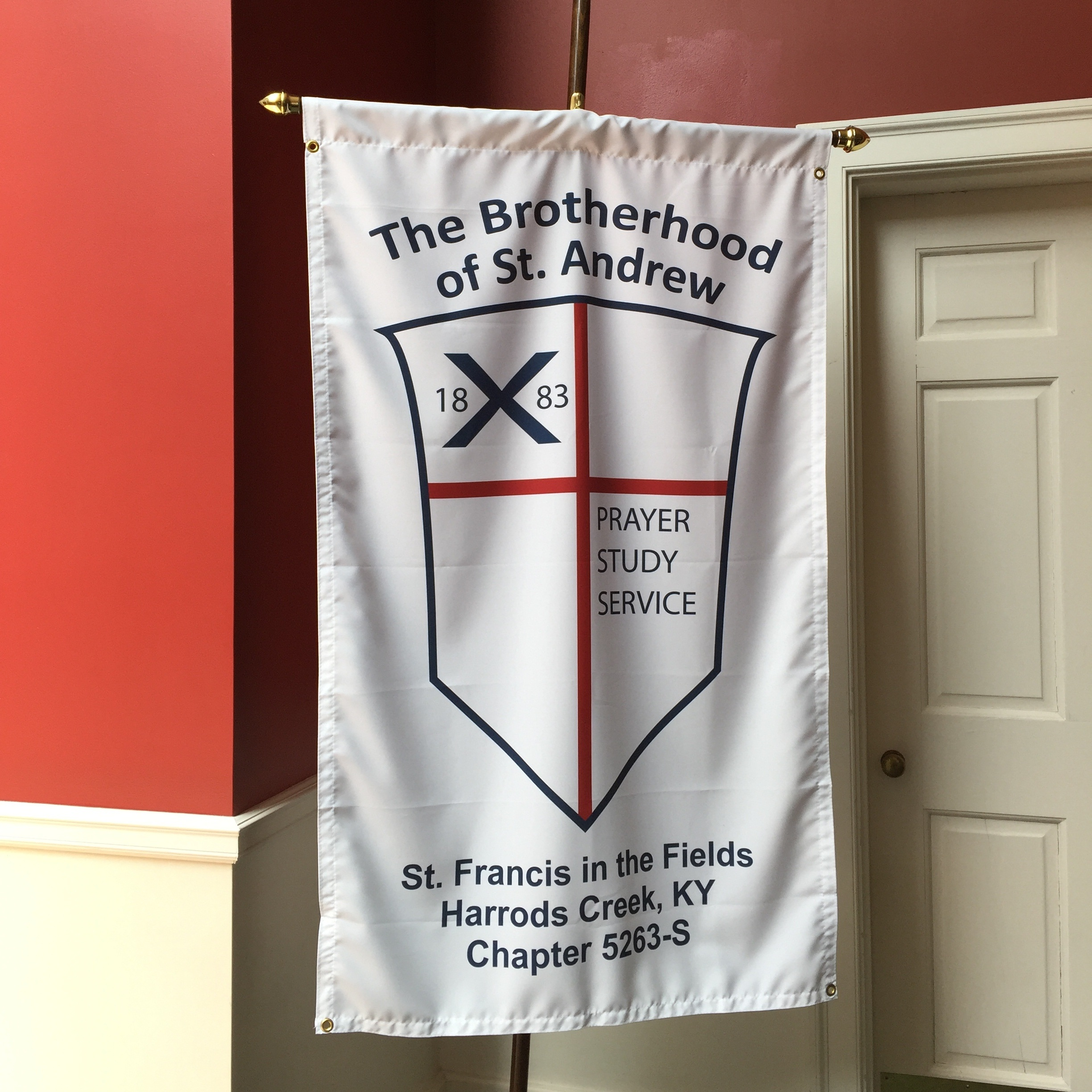 Brotherhood of St. Andrew sign