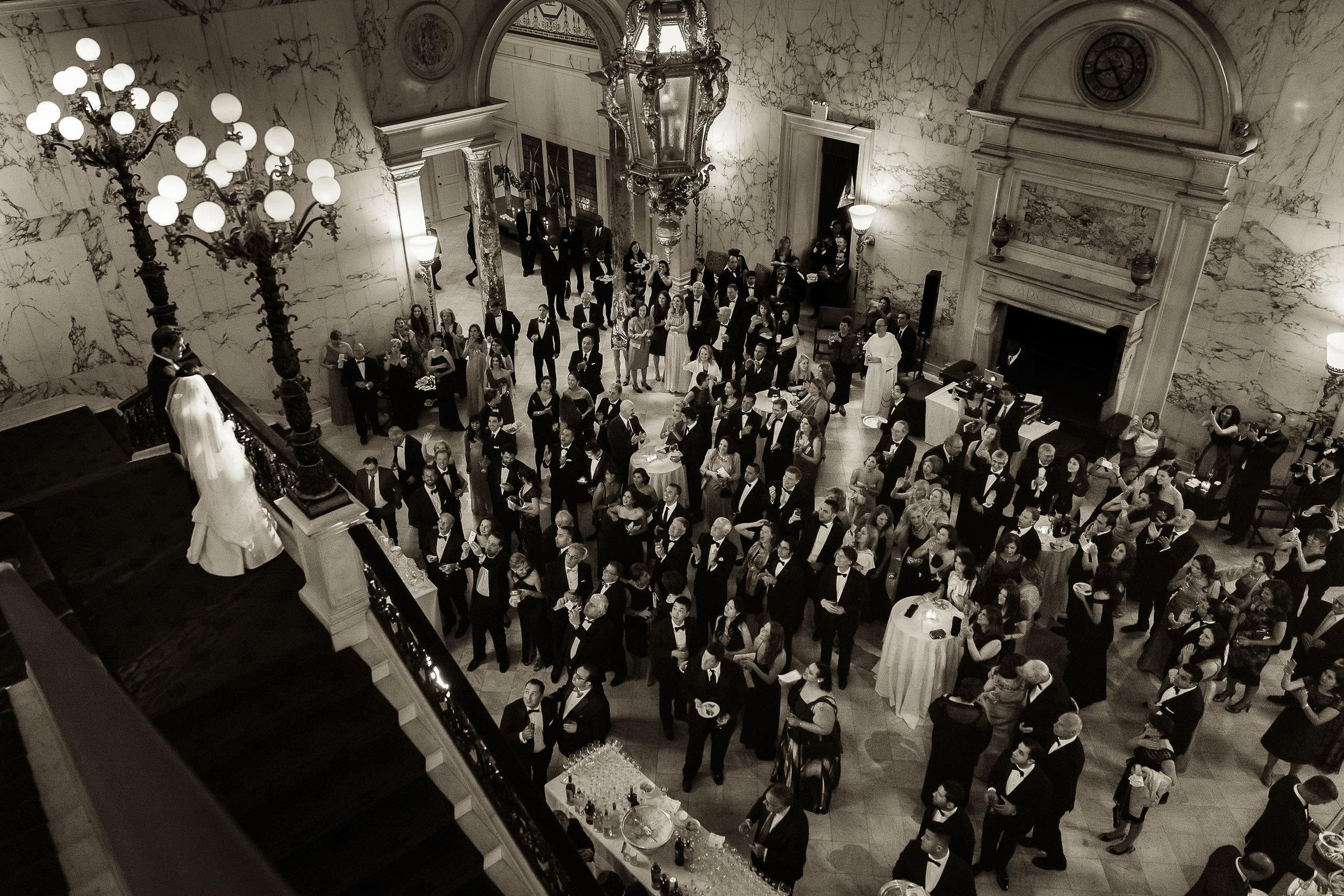 Luxury NYC Amsale Metropolitan Club wedding by Brian Dorsey Stud
