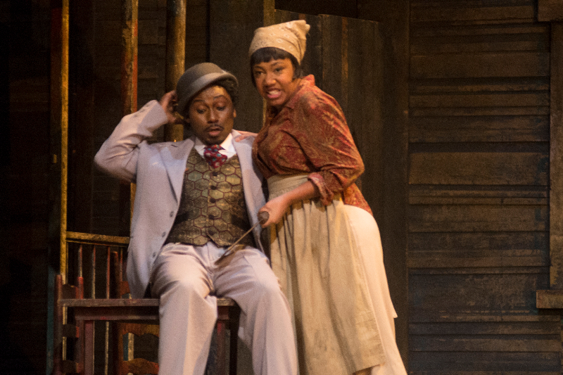 Myself and Jermaine Smith in Porgy and Bess with Opéra de Montréal 2014