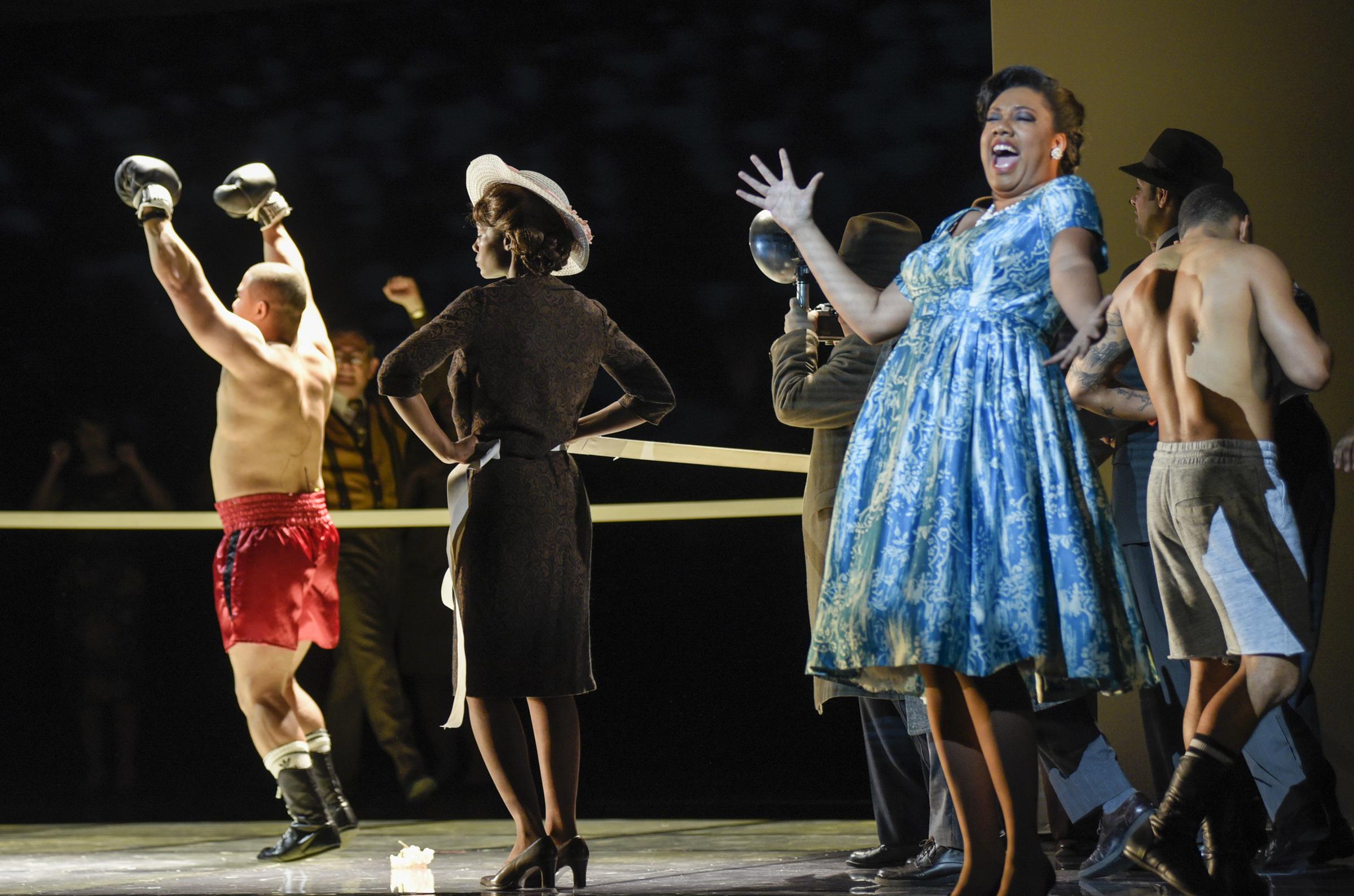 Catherine in Opéra de Montréal's production of Champion.