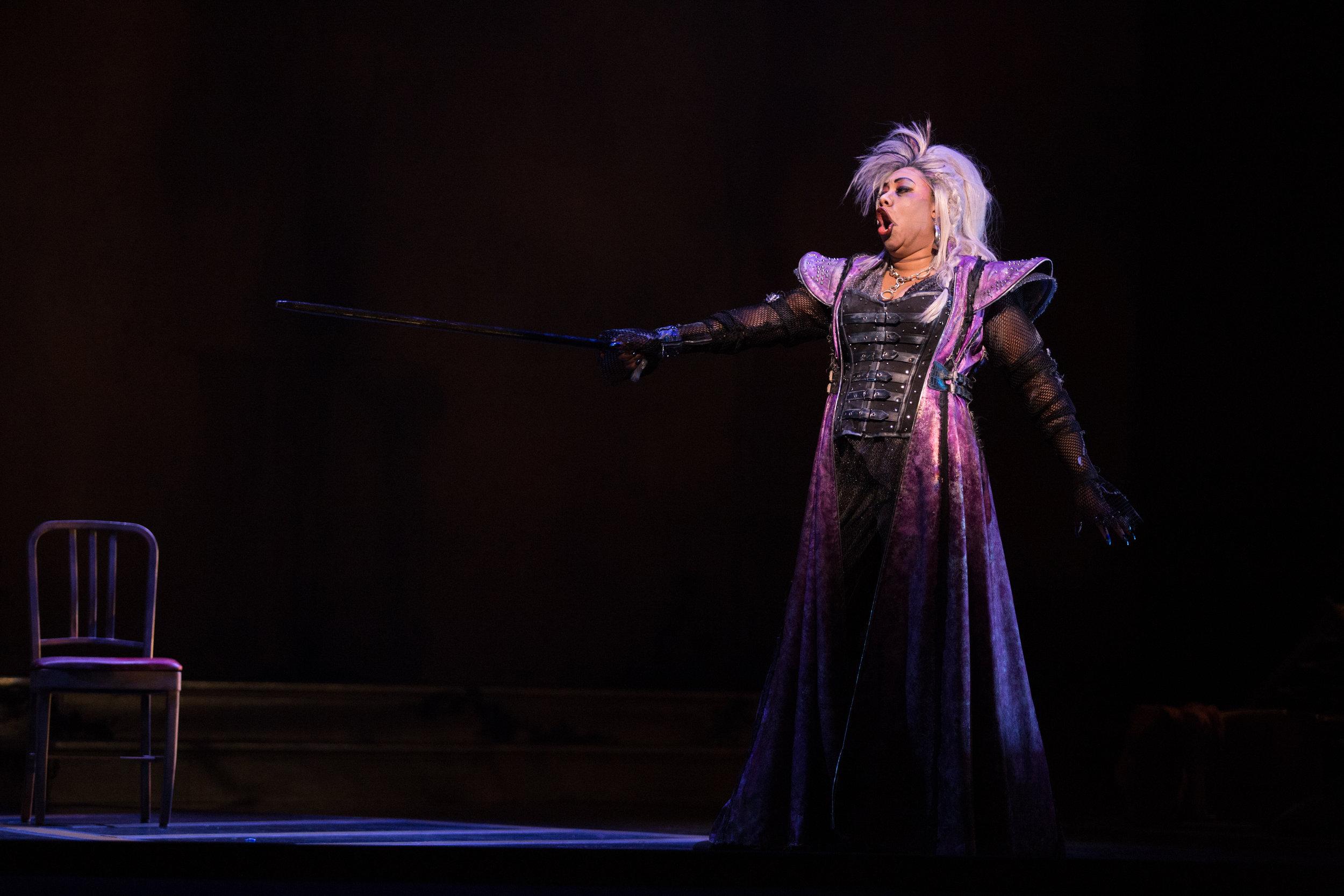 Catherine in Opéra de Montréal's production of Elektra