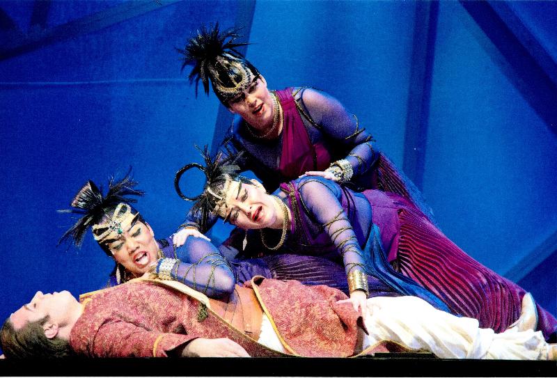 Catherine in Edmonton' Opera's Magic Flute