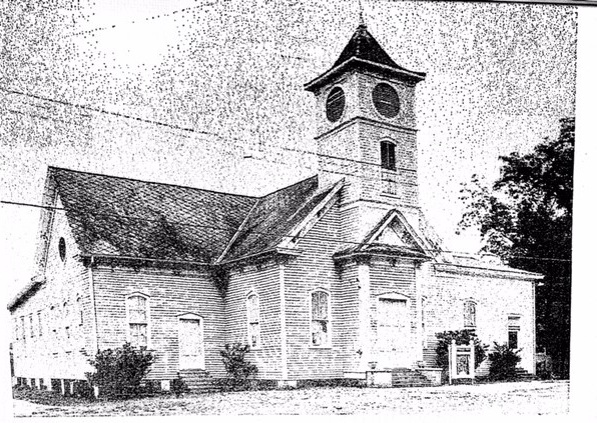 The Old Bethany Baptist Church - Whistler, AL
