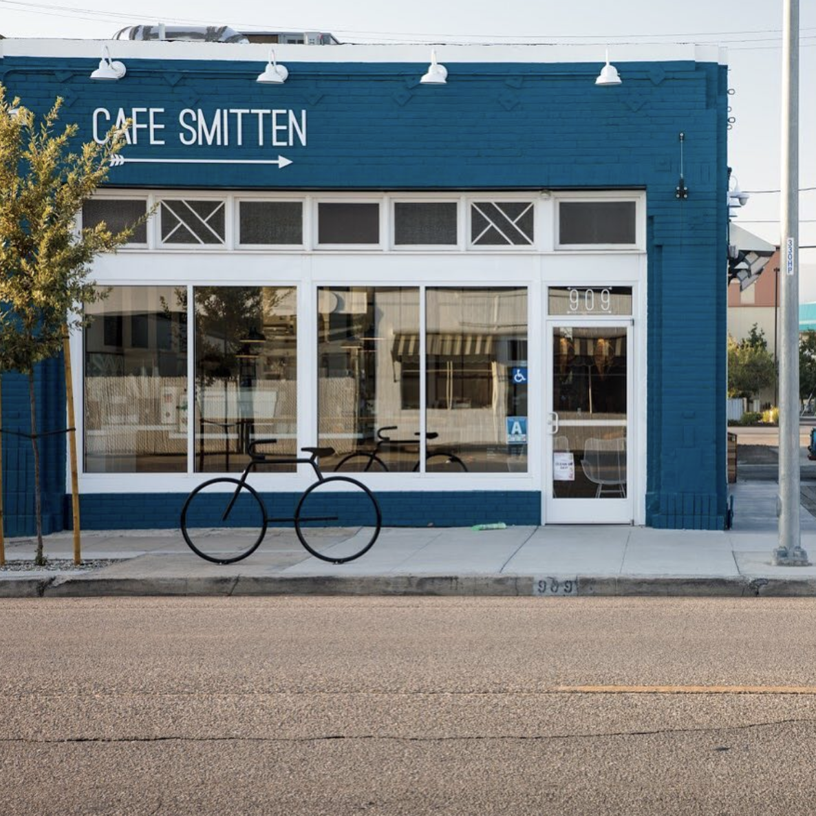 Cafe smitten - Sage Equities had the vision to turn a dusty brick building that once held an old tire shop into Cafe Smitten. This bustling urban coffee shop, located in the Eastchester neighborhood of Downtown Bakersfield, is one of Bakersfield's most beloved gathering places.