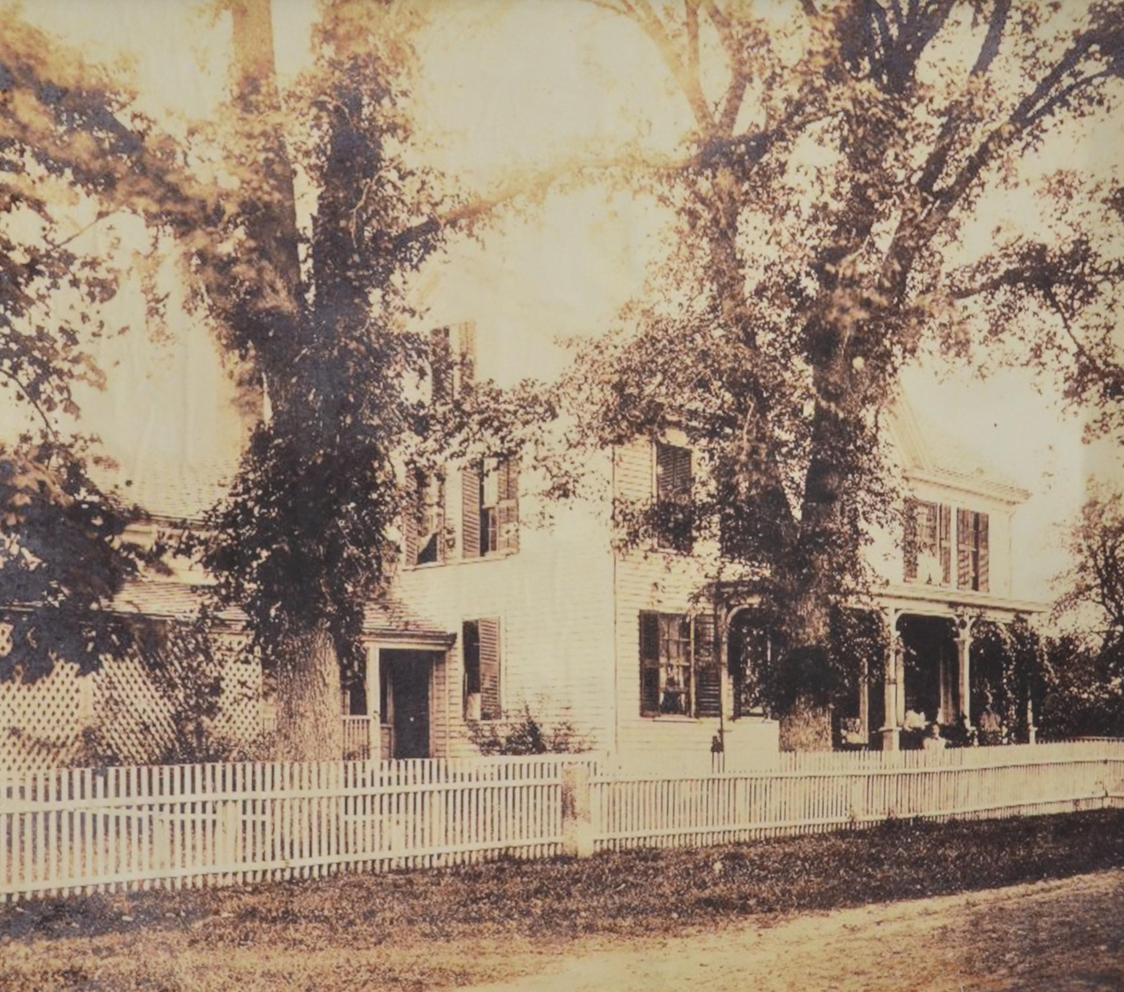 Mooresfield circa 1880.