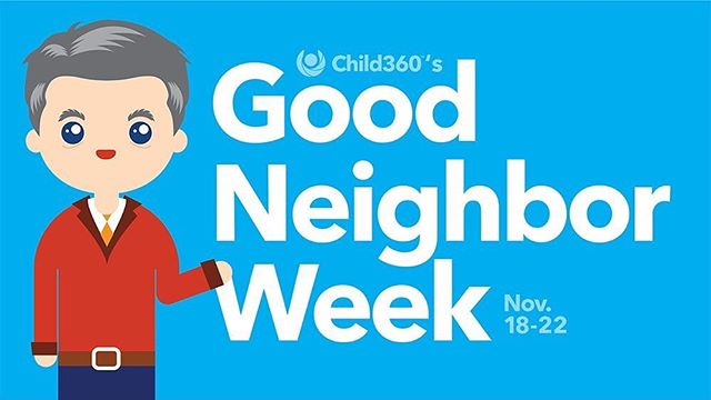 Mark your calendars and save the date! In two weeks, @child_360 presents Good Neighbor Week, in celebration of Mister Rogers, honoring different lessons of his each day. Follow them and stay tuned for updates!