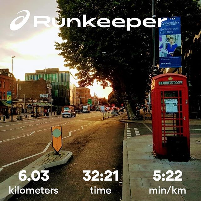 6k — the best way to start your day 🥇🏃♂️☀️ #morningmotivation #fitness #lifestyle #summertime #londonsummer #runningmotivation #running #fitnessmotivation