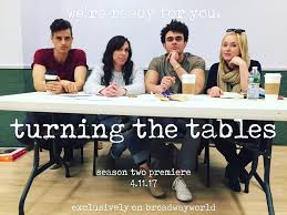 'Turning The Tables' Season Two - Julia has been having a little too much fun playing a casting director in BroadwayWorld's comedy improv series, 'Turning the Tables', and Season Two is out now! Watch Kelli O'Hara, Krysta Rodriguez, some unsuspecting dancers, and many more Broadway favorites, go through auditions from hell.