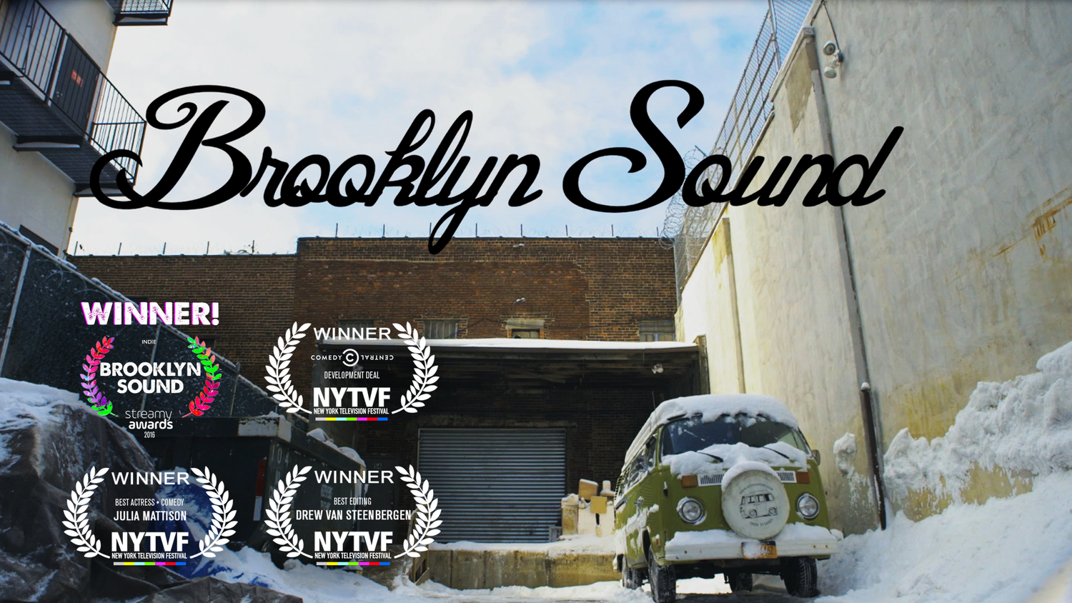 Brooklyn Sound Named One of 'Tubefilter's Top 5 Indie Series of 2016' - Brooklyn Sound was included as one of Tubefilter's Top 5 indie series of 2016! Check it out here, and visit the press section for more recent articles on the series.