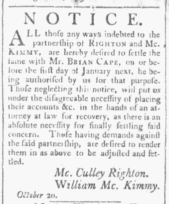 State Gazette of South Carolina, November 3rd 1791.PNG