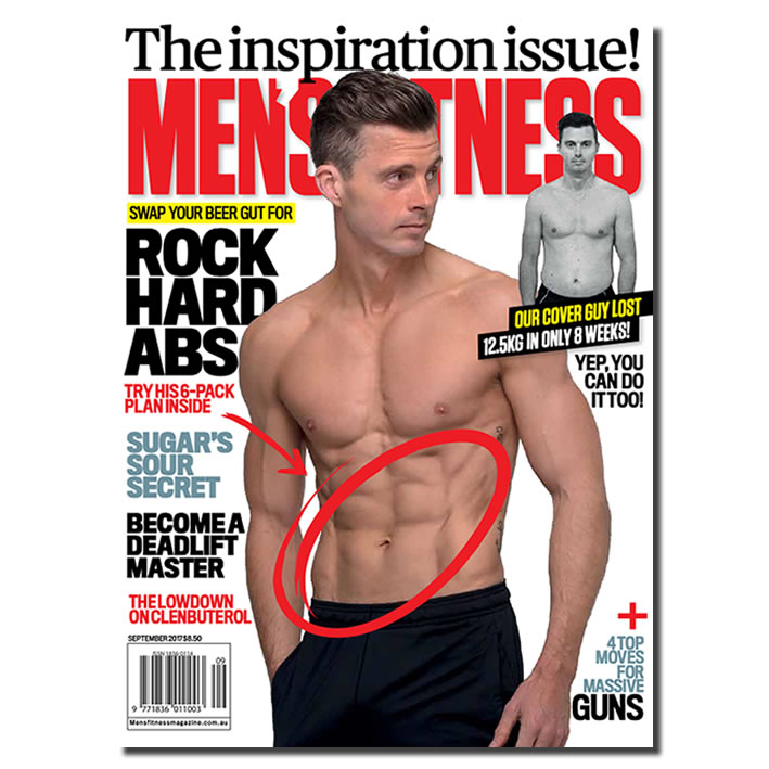 PATRICK DOOLEY for Men's Fitness Magazine