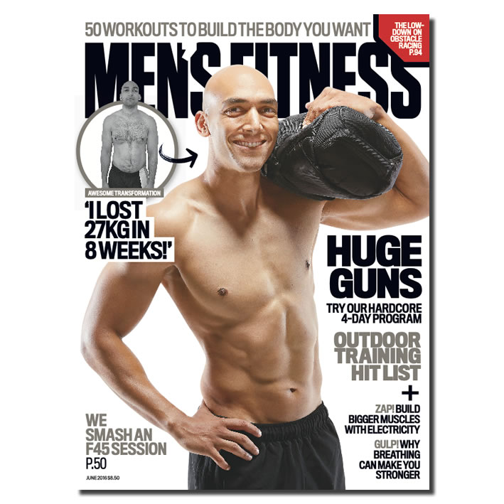 DANIEL POONOOSAMY for Men's Fitness Magazine