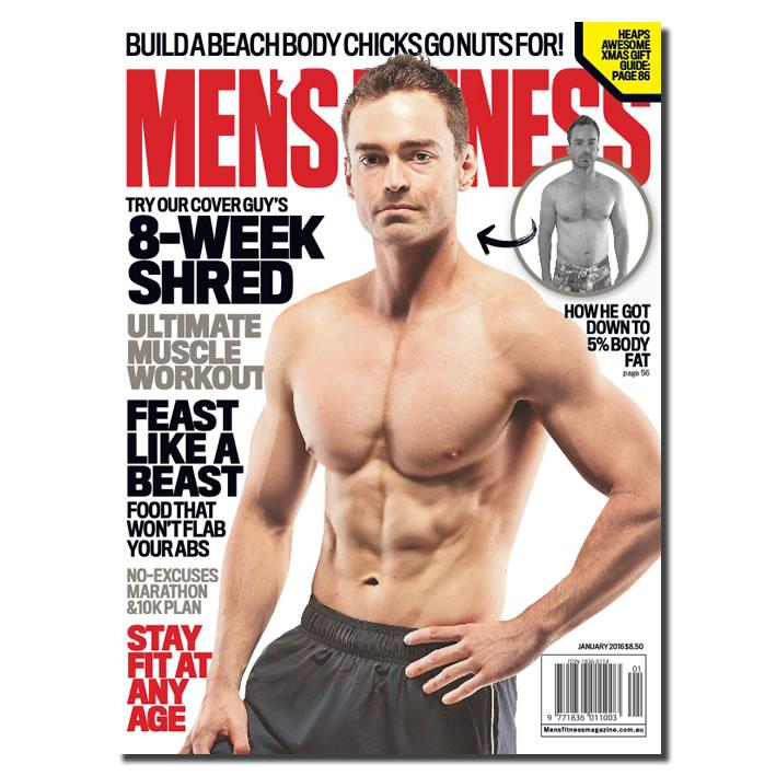 CHRIS BONZOL for Men's Fitness Magazine