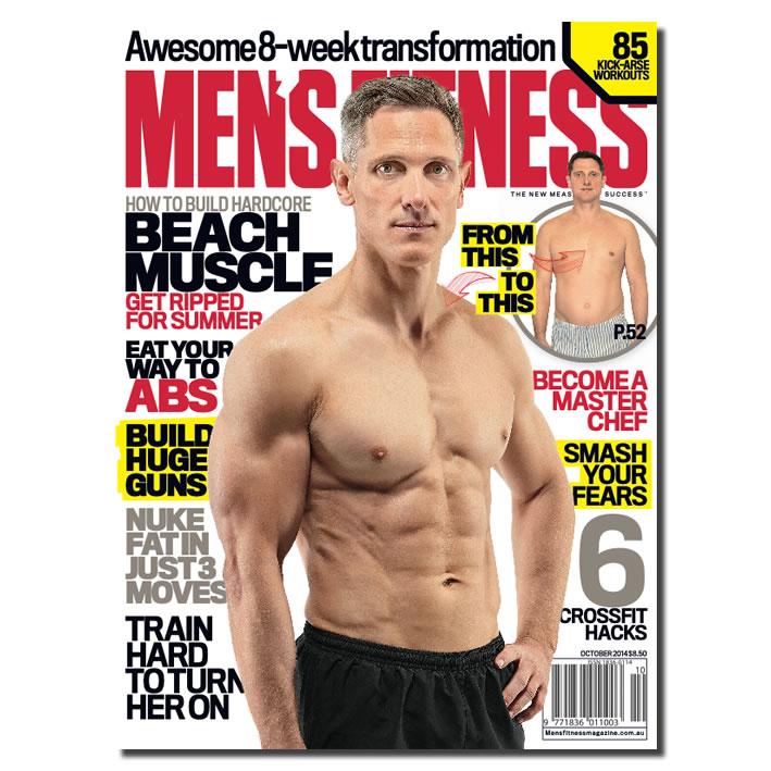 BRENT SMITH for Men's Fitness Magazine