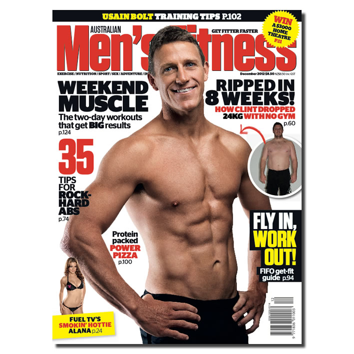 CLINT LATTA for Men's Fitness Magazine