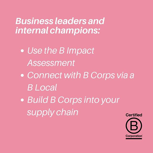 With less than a week of #bcorp month to go, we want to look beyond July and highlight the many ways you can engage and support the B Corp Movement! 🅱️ We are stoked to have been able to reach individuals and businesses beyond our awesome B Corp community and engage those who want to join the conversation about better business for a better world.🥳 We encourage you to stay interested, get involved and find out how you can join the #bcorpmovement. Swipe to find out how 👉