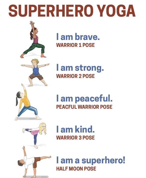 If you tag us with #SuperheroYoga in any of the Superhero Yoga poses above - you will be entered to win today's prize. #letsbesuperheroes @letsbesuperheroes