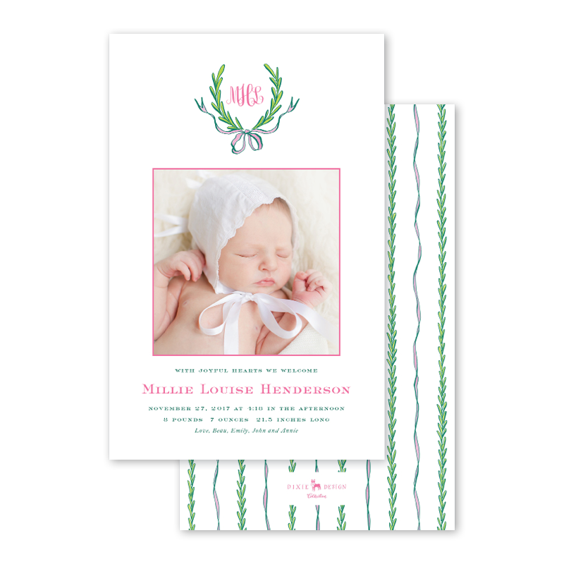 2018_Hollon_Ribbons and Garland Pink Birth Announcement_A9_thumb_01.png