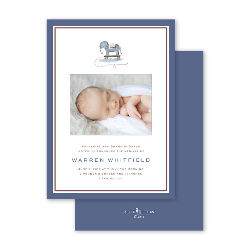 2017_Hollon_Elephant Toy_Birth AnnouncementII_A7PortraitCardFlat_thumb_Main.png