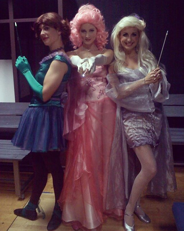 From that one performance we were short a fairy godmother, and I got to cover the part in drag.