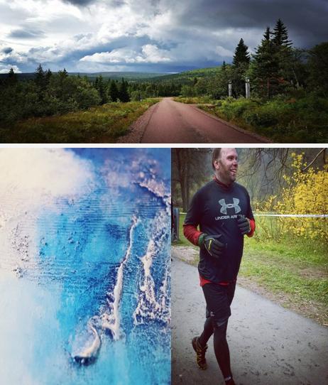 Rickard Ahl - Artist & runner, Stockholm, Sweden.