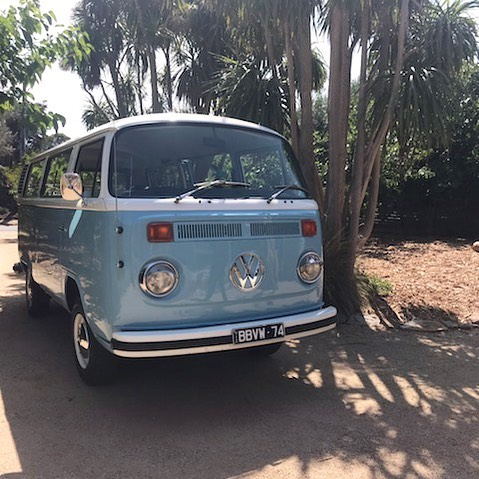 | Meet Bluebell. The first addition to our tribe! Bluebell is a 1974 Volkswagen Kombi. We purchased her from Newcastle in October 2018 and drove her down to Melbourne. It was love at first sight 😍 |