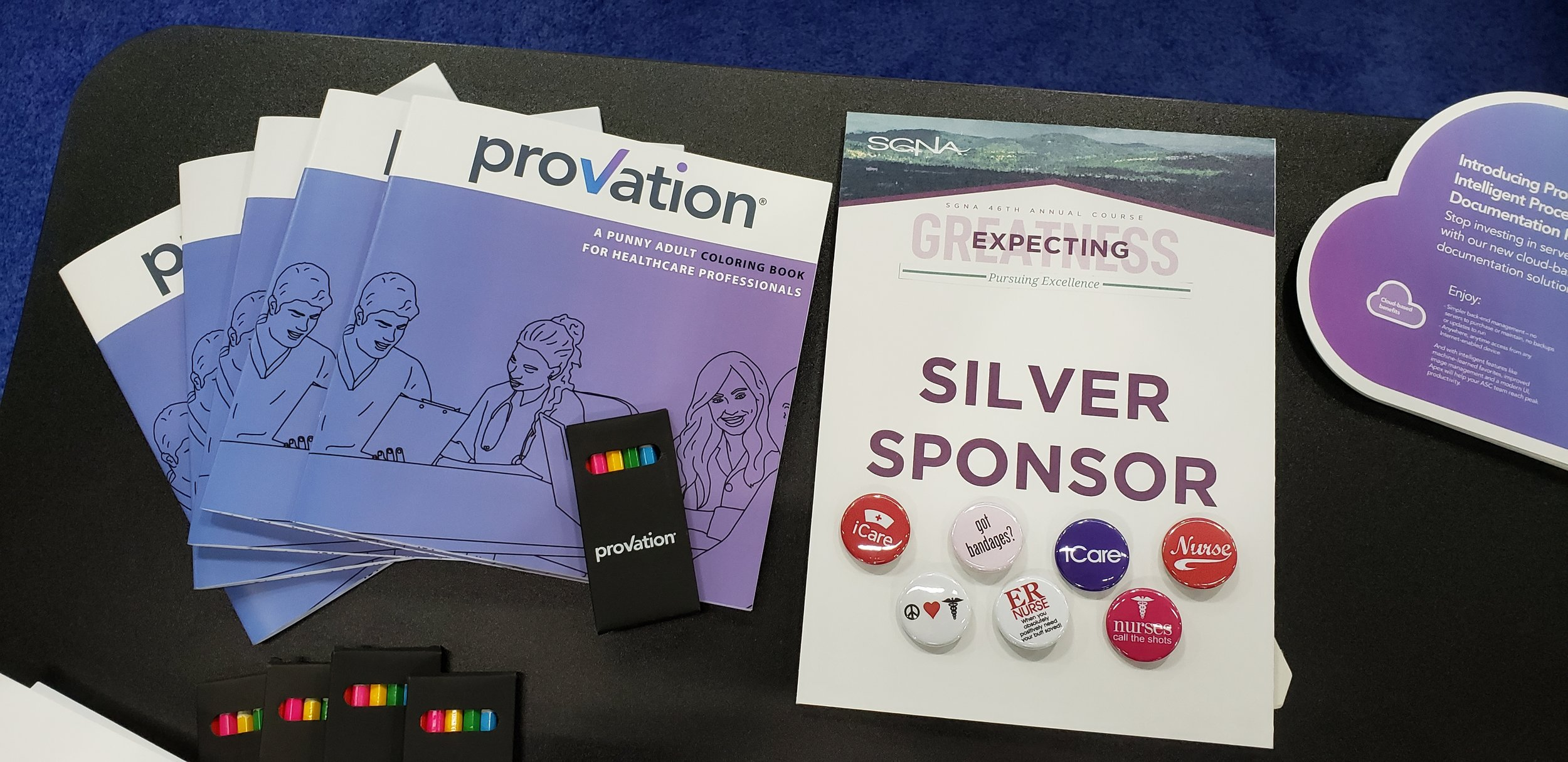 provation medical coloring books