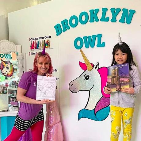 brooklyn custom coloring book