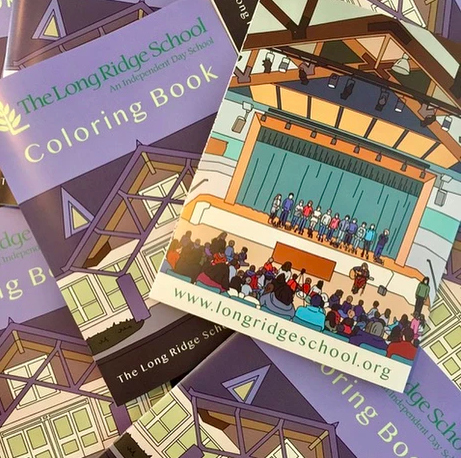 School custom coloring book
