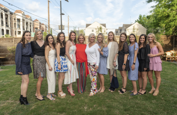 The PR Boutique team with founders Karen Henry and Gretchen Brice   photo credit: Fulton Davenport