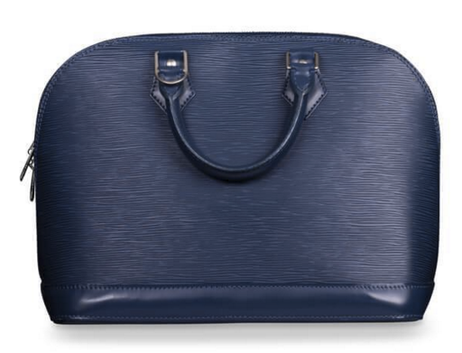 Louis Vuitton Blue EPI Leather PM Alma