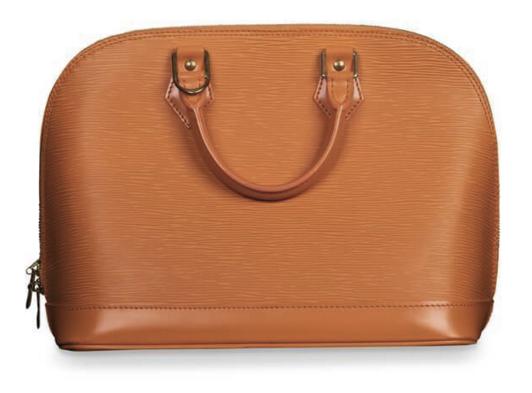 Louis Vuitton Orange EPI Leather Alma