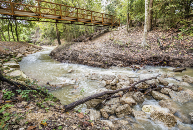The Houston Arboretum's new Ravine and trail system are now open to the public, located in the northwest corner of the 155-acre urban nature sanctuary   photo credit: Christina Spade photos