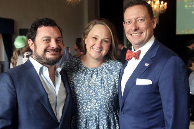 Chef Chair David Cordua, Susannah and Chris Watt