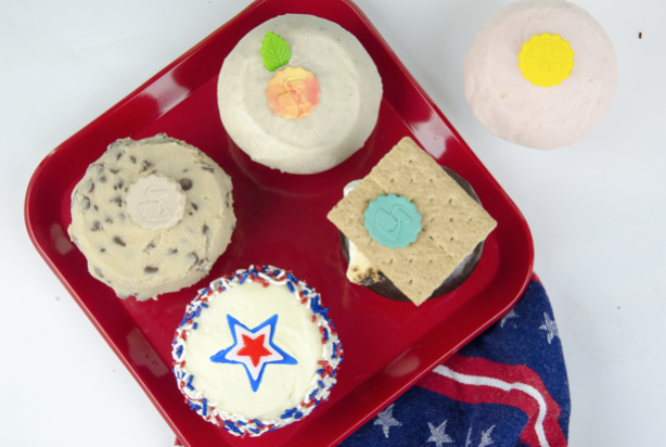 All American Summer flavors   Photo courtesy of CRAVE Cupcakes