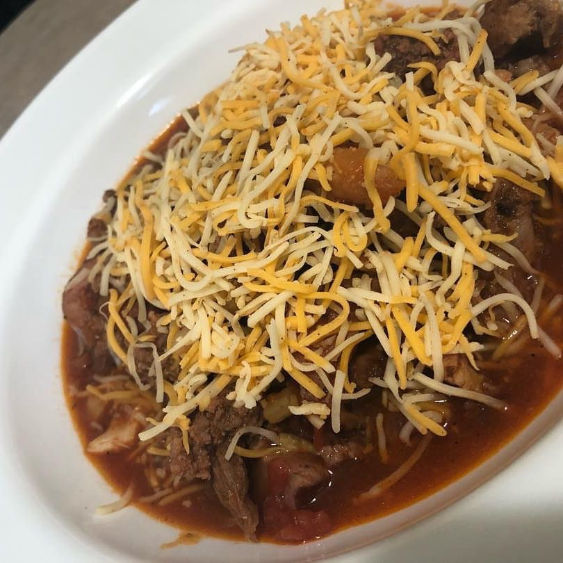 """""""All The Meats"""" Chili"""