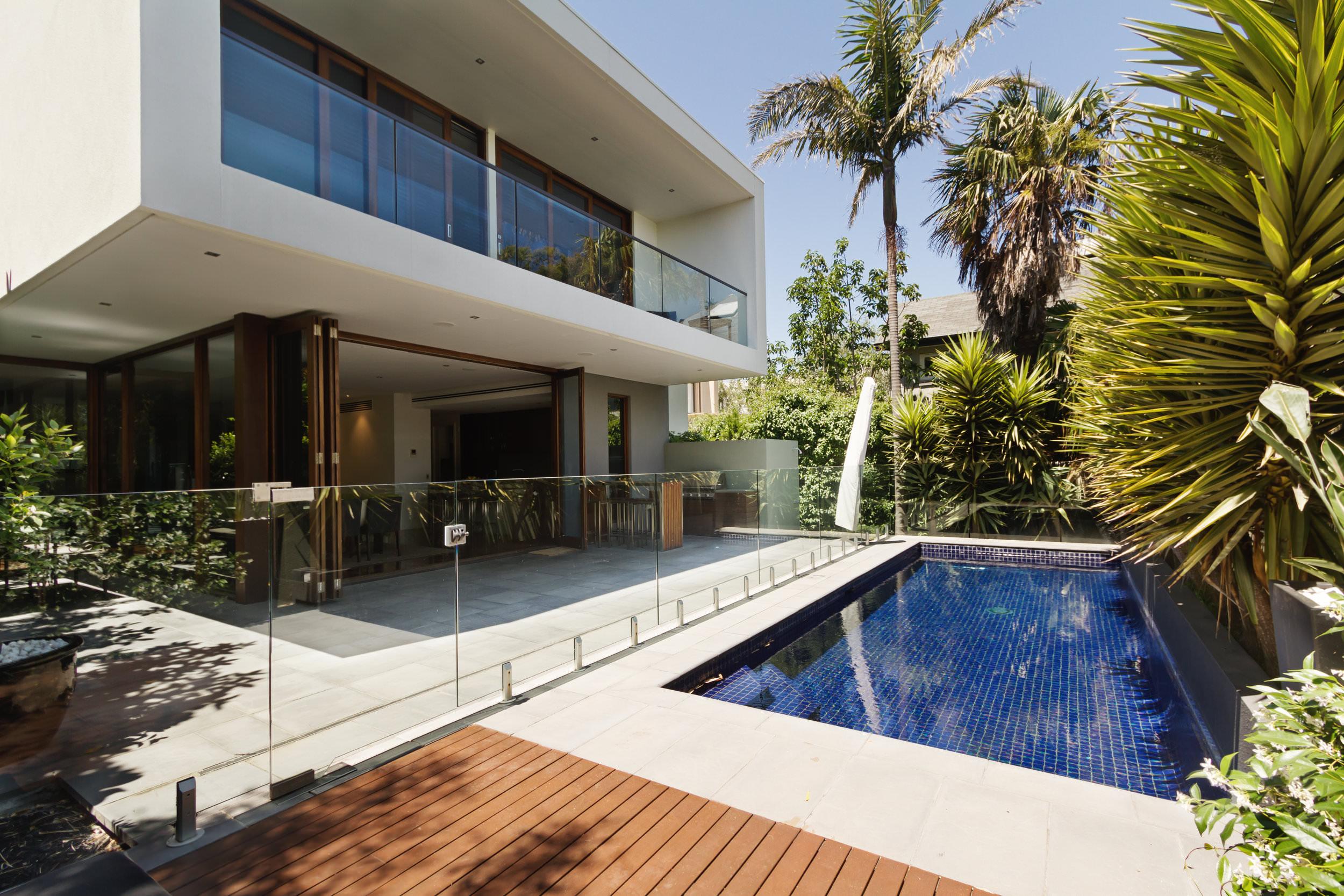 Pool remodel in Southern California