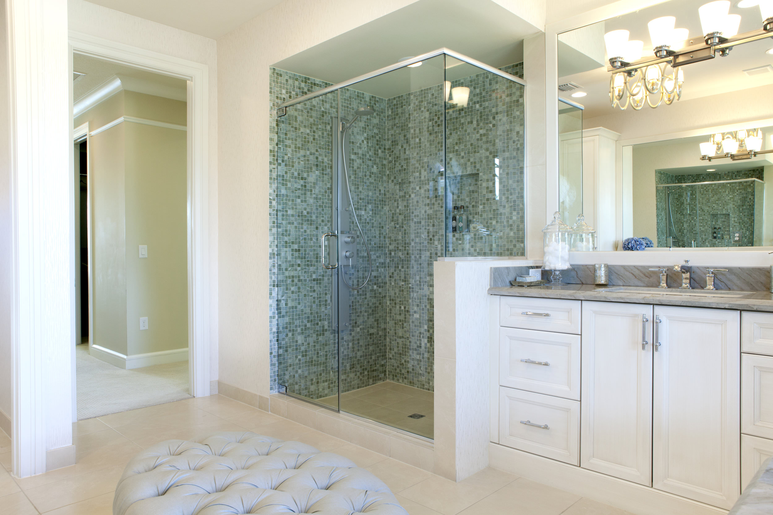 Bathroom remodel in Southern California